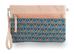 Mimpi Mannis Batik Clutch Light Pink