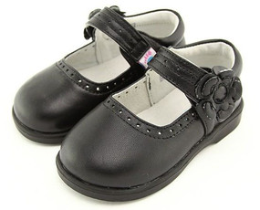 "Freycoo ""Willow"" Black Leather Shoes"