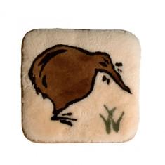 Sheepskin Kiwi Cushion / Seat Pad