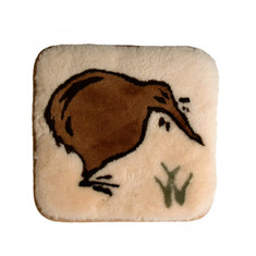 Sheepskin Kiwi Cushion / Seat Pad