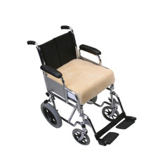 Wheelchair Sheepskin Padded Seat