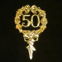 Gold 50th Emblem