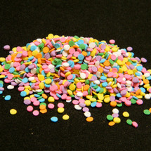 Edible Confetti, Assorted Pastel Colors