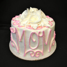 Mother's Day Design: Pink (front view)