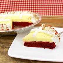 Red Velvet Cake Pie