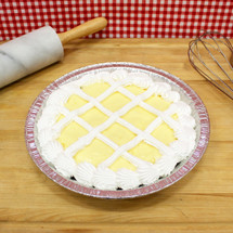 French Vanilla Cake Pie