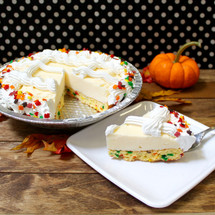 Autumn Rumfetti Cake Pie
