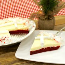 Velvet Candy Cande Cake Pie