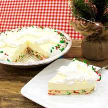 Holiday Rumfetti Cake Pie