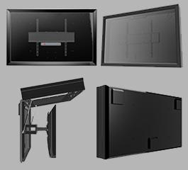 The TV Shield PRO weatherproof LED TV cabinet diagram