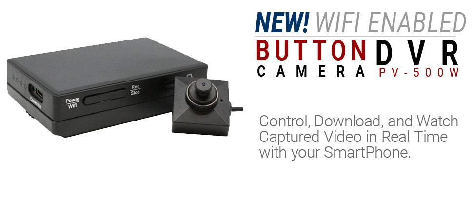 Lawmate PV-500W - WiFi Button Camera DVR