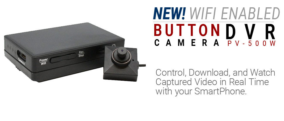 Lawmate PV-500W - WiFi Button Camera DVR