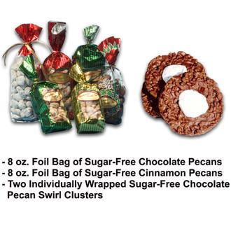 Sugar-Free Pecan Candy Trio