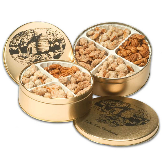 Pecan Candy Gift Tin - The Cane River 2 lbs. Sampler