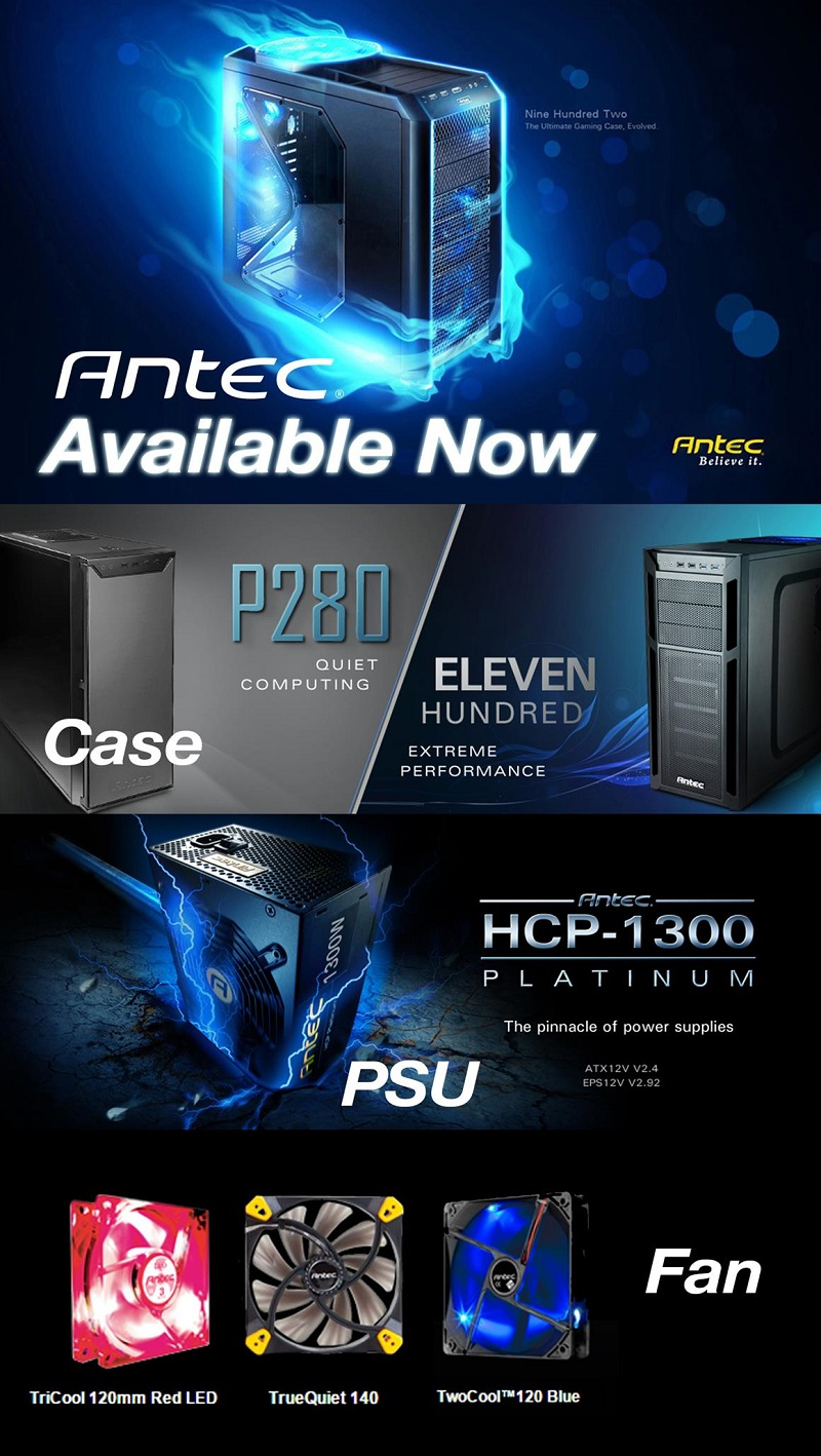 View full range of Antec products