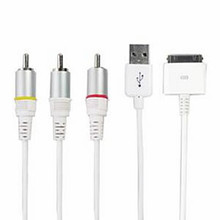AV Cable for iPhone 3GS, 4G, iPad