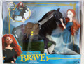 2012 Disney Pixar's Brave, Princess Merida & Angus Dolls Play Set