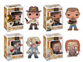 Set of 4 Funko Walking Dead Vinyl POP! Figures
