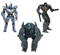 Pacific Rim – 7″ Series 2 - Action Figure – Set of 3