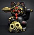 "Andrew Bell Mahakala Misfortune Cat 5"" Vinyl Figure Playge/ Threezero"