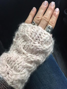 Whale's Tail Mitts by Rosemary Drysdale