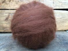 100% natural brown alpaca