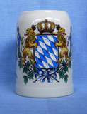 Mug Bavarian Lions/Flags (MUG-BAVARIAFLAGS