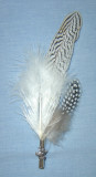 "Zebra Feather 9""-11"" (FEA258)"