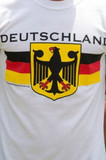 Deutschland Eagle INFANT White T-shirt Screenprinted 12MONTHS