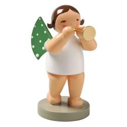 Brunette Angel Small Horn Figurine Wendt Kuhn FGW650X3-DK