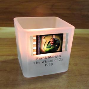 Votive holder measures 2ƒ? x 2ƒ? x 2ƒ? and comes with one tealight.