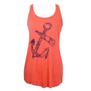 Anchor Tank in Coral