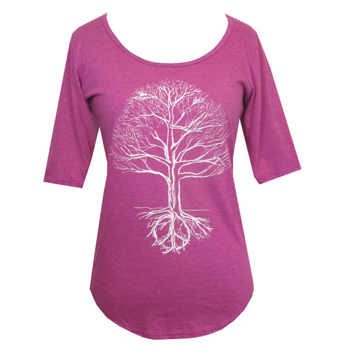 1/2 Sleeve - Tree of Life, Pink