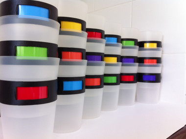 MyColourCup Coloured Cups for Families and Parties