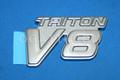 1C3Z-16720-DD   TRITON V8 EMBLEM PLATINUM EDITION F250-450 2001