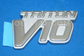 1C3Z-16720-EE   TRITON V10 EMBLEM PLATINUM EDITION FORD F250-450 2001