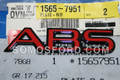 15657951 | ABS RED CHEVROLET EMBLEM 1992-1994