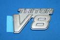 1C3Z-16720-DD   TRITON V8 EMBLEM PLATINUM EDITION F250-F450 2001
