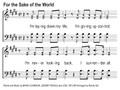 For The Sake Of The World Song Slides