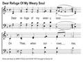 Dear Refuge of My Weary Soul Song Slides