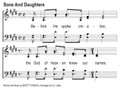 Sons And Daughters Song Slides