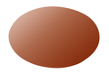 Oval, 170*100 mm - 1 Pack (Copper Blank 777)