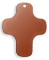 Cross, plain - 10 Pack (Copper Blank 582)