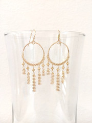 Dreamcatcher Hoop earring