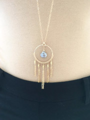 Moonstone Dreamcatcher necklace