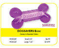 DOGSAVERS CHEW TOYS