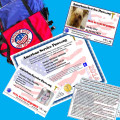 SERVICE DOG ID VEST/CERT PACKAGE #6 INCLUDING DOG VEST WITH PATCH