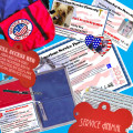 SERVICE DOG ID BEST VALUE COMPLETE IDENTIFICATION PACKAGE #7