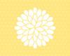 Pattern #4 in buttercup, Landscape