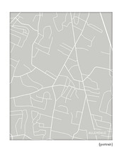 Allendale New Jersey city map